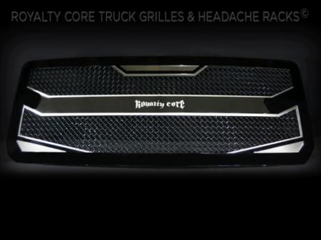 Gallery - CUSTOM GRILLES - Royalty Core - 2015-2016 GMC Denali HD Custom Grille