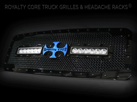 Gallery - CUSTOM GRILLES - Royalty Core - 2015 Ford F-250 RC2X Custom Grille