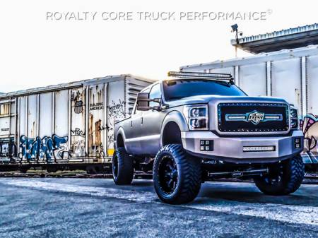 Gallery - CUSTOM GRILLES - Royalty Core - 2011-2016 Ford F-350 Customized BTM RC2X
