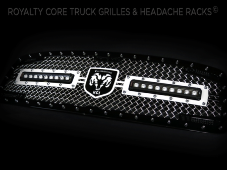 Gallery - CUSTOM GRILLES - Royalty Core - 2003-2005​ Dodge Ram 2500/3500 RC2X