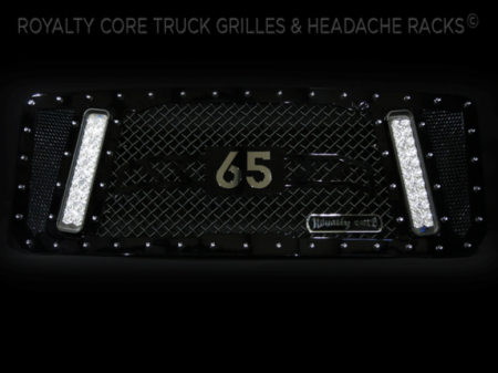 Gallery - CUSTOM GRILLES - Royalty Core - 2016 GMC Denali RCX with Customized 65 For Louis Vasquez of the NFL