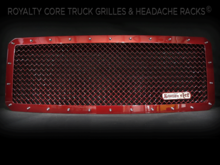 Gallery - CUSTOM GRILLES - Royalty Core - Custom Color Match on Frame & Mesh