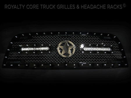 Gallery - CUSTOM GRILLES - Royalty Core - Dodge Ram 2500/3500 2013-2016 RC2X w/ Custom LED's