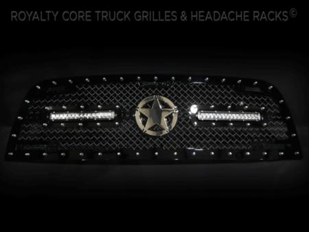 Gallery - CUSTOM GRILLES - Royalty Core - Dodge Ram 2500/3500 2013-2016 RC2X w/ Custom LED's