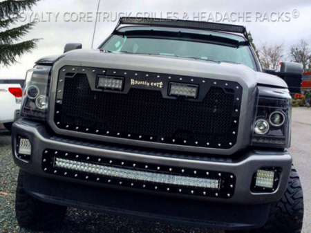 Gallery - CUSTOM GRILLES - Royalty Core - Ford SuperDuty 2011-2016 Custom LED Grille