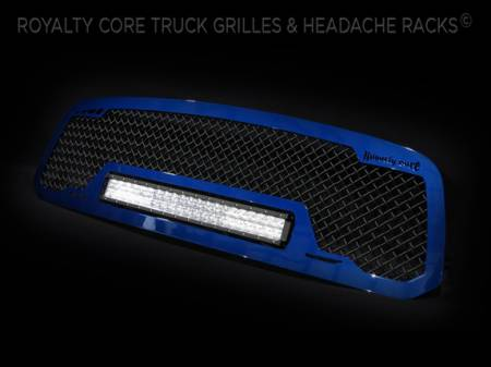 Gallery - CUSTOM GRILLES - Royalty Core - RAM 1500 2013-2015 RCRX With Color Matched Frame