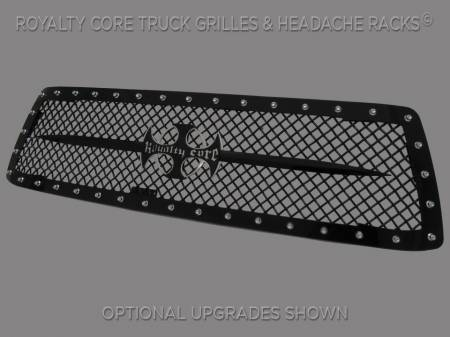 Royalty Core - Toyota Tundra 2010-2013 RC1 Main Grille with Black Sword Assembly - Image 2