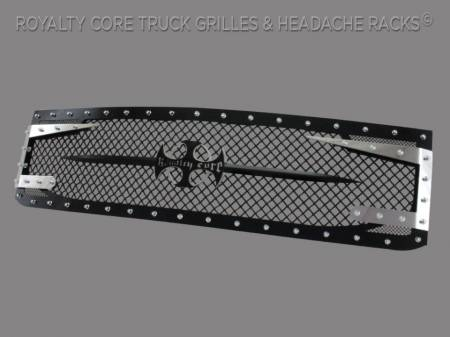 Royalty Core - Chevy 2500/3500 2011-2014 Full Grille Replacement RC3DX Innovative Grille - Image 2