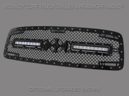 Royalty Core - Dodge Ram 2500/3500/4500 2003-2005 RC2X X-Treme Dual LED Grille - Image 2