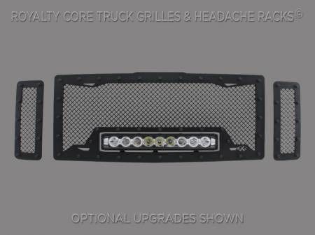 Excursion - 2008-2010 Excursion Grilles - Royalty Core - Ford Super Duty 2008-2010 RC1X Incredible LED Grille
