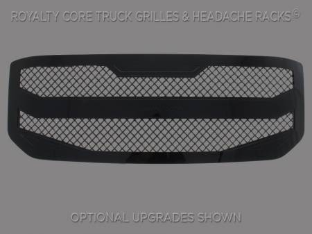 YUKON - 2015-2017 - Royalty Core - Royalty Core GMC Yukon HD 2015-2016 RC4 Layered Grille 100% Stainless Steel Truck Grille