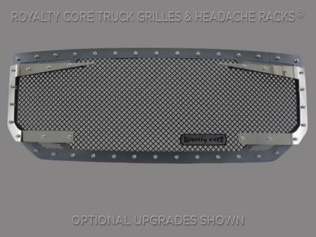 1500 - 2016-2018 - Royalty Core - GMC Sierra 1500, Denali, & All Terrain 2016-2018 RC3DX Innovative Grille