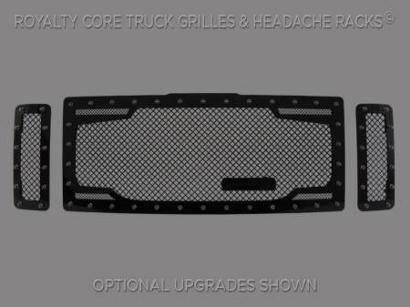 Excursion - 2008-2010 - Royalty Core - Ford SuperDuty 2008-2010 RC2 Twin Mesh Grille