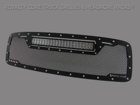 Royalty Core - DODGE RAM 2500/3500/4500 2003-2005 RCRX LED Race Line Grille-Top Mount LED - Image 2