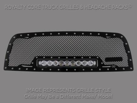 Grilles - RC1X - Royalty Core - Chevrolet Suburban, Tahoe, Avalanche 2007-2014 RC1X Incredible LED Grille