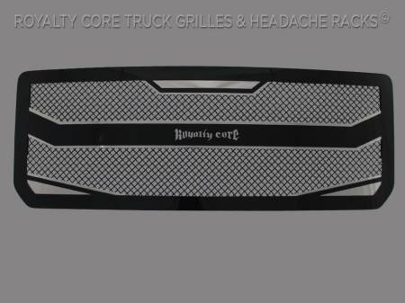 2500/3500 Denali - 2015-2017 - Royalty Core - Royalty Core GMC Denali 2500/3500 HD 2015-2017 RC4 Layered Grille 100% Stainless Steel Truck Grille