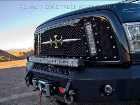 2500/3500/4500 - 2013-2017 - Royalty Core - Dodge Ram 2500/3500/4500 2013-2017 RCX Explosive Dual LED Grille