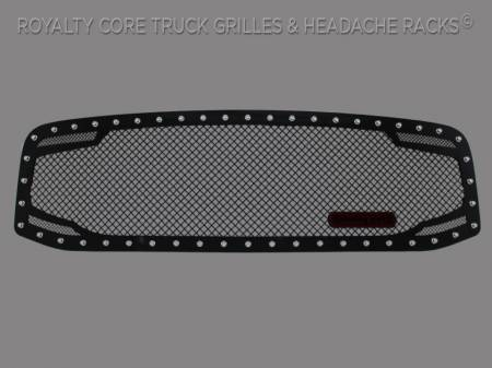 Grilles - RC2 - Royalty Core - Dodge Ram 2500/3500/4500 2006-2009 RC2 Twin Mesh Grille