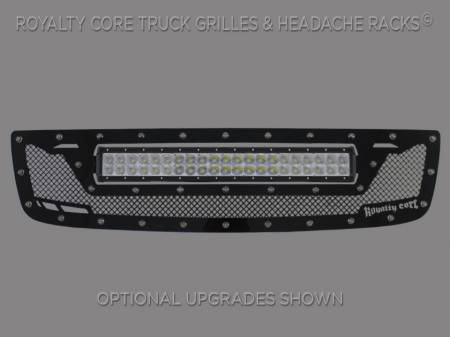 2500/3500 Sierra - 2003-2006 - Royalty Core - GMC Sierra HD 2500/3500 2003-2006 RCRX LED Race Line Grille-Top Mount LED