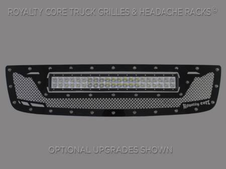2500/3500 Sierra - 2003-2006 - Royalty Core - GMC Sierra HD 2500/3500 2003-2006 RCRX LED Race Line Grille-Top Mount LED