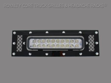 Grilles - Bumper Grilles - Royalty Core - Ford F-150 2013-2014 LED Bumper Grille