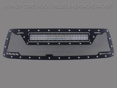 Grilles - RCRXT - Royalty Core - Toyota Tundra 2010-2013 RCRX LED Race Line Grille-Top Mounted LED