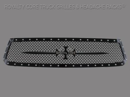 Tundra - 2014-2017 Tundra Grilles - Royalty Core - Toyota Tundra 2014-2017 RC1 Main Grille with Black Sword Assembly