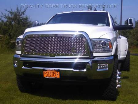 Royalty Core - Dodge Ram 1500 2013-2018 RC1 Classic Grille Chrome - Image 3