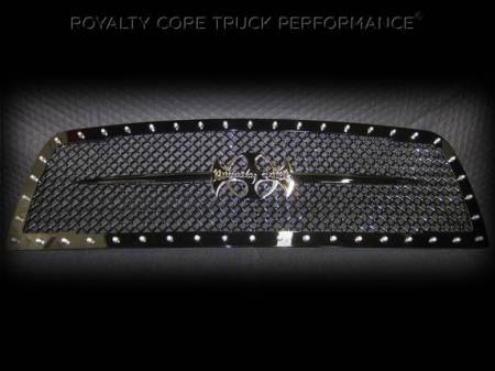 Royalty Core - Dodge Ram 1500 2013-2018 RC1 Main Grille with Black Sword Assembly - Image 3