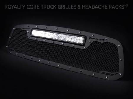 Royalty Core - DODGE RAM 1500 2013-2018 RCRX LED Race Line Grille-Top Mount LED - Image 5