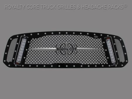 1500 - 2013-2018 - Royalty Core - Dodge Ram 1500 2013-2018 RCX Explosive Dual LED Grille