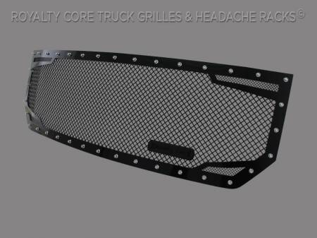 Grilles - RC2 - Royalty Core - GMC Sierra 1500, Denali, & All Terrain 2016-2018 RC2 Twin Mesh Grille