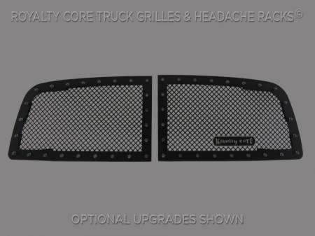 1500 - 2009-2012 - Royalty Core - Dodge Ram 1500 2009-2012 RC1 Classic Grille 2 Piece