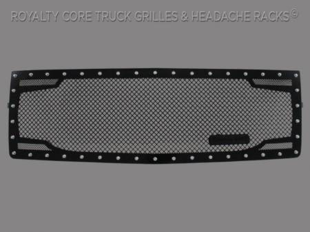 Grilles - RC2 - Royalty Core - Chevrolet 1500 Z71 2014-2015 RC2 Twin Mesh Grille