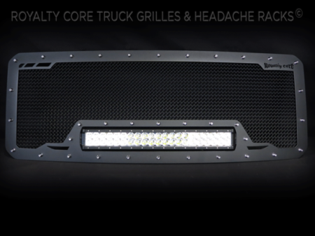 SuperDuty - 2017-2018 - Royalty Core - Ford SuperDuty 2017+ RCRX LED Race Line Full Grille Replacement