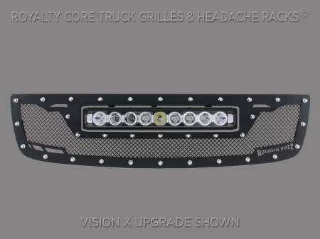 Royalty Core - GMC Sierra HD 2500/3500 2003-2006 RCRX LED Race Line Grille-Top Mount LED - Image 2