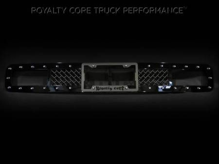 SuperDuty - 2017-2018 - Royalty Core - Ford Super Duty 2017+ Bumper Grille with License Plate Housing