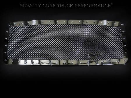 SuperDuty - 2017-2018 - Royalty Core - Ford Super Duty 2017-2018 RC1 Classic Full Grille Replacement Chrome