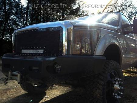 Grilles - RC1X - Royalty Core - Ford Super Duty 2017+ RC1X Incredible LED Full Grille Replacement