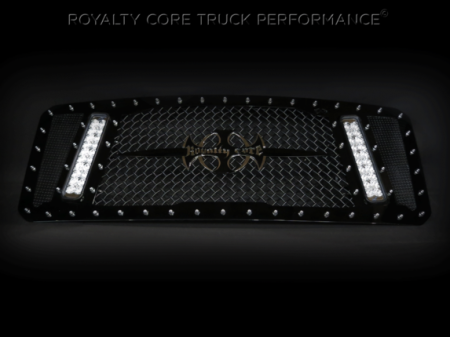 SuperDuty - 2017-2018 - Royalty Core - Ford Super Duty 2017+ RCX Explosive Dual LED Full Grille Replacement