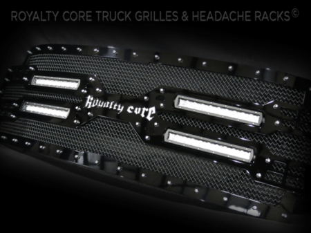 Royalty Core - Ford Super Duty 2017-2019 RC5X Quadrant LED Full Grille Replacement - Image 4