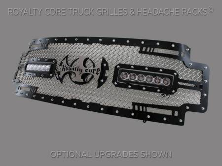 SuperDuty - 2017-2018 - Royalty Core - Ford Super Duty 2017+ RC2X X-Treme Dual LED Full Grille Replacement