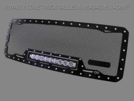 Super Duty - 2011-2016 Super Duty Grilles - Royalty Core - Ford Super Duty 2011-2016 RC1X Incredible LED Grille