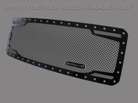 Super Duty - 2011-2016 Super Duty Grilles - Royalty Core - Ford SuperDuty 2011-2016 RC2 Twin Mesh Grille