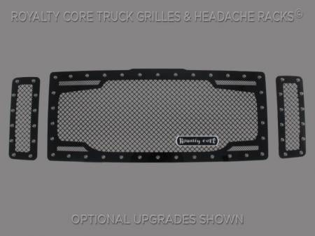 Grilles - RC2 - Royalty Core - Ford Super Duty 2008-2010 RC2 Twin Mesh Grille
