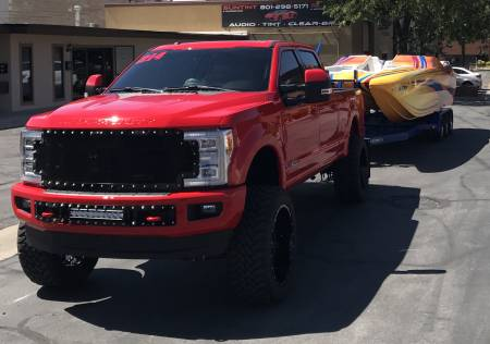 SuperDuty - 2017-2018 - Royalty Core - Ford Super Duty 2017-2018 RC1 Main Grille with LED Bumper Grille Package