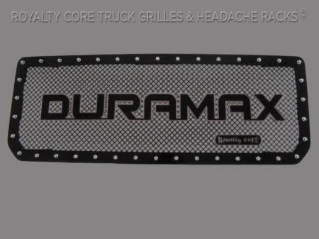 2500/3500 Sierra - 2015-2019 2500 & 3500 Sierra Grilles - Royalty Core - GMC HD 2500/3500 2015-2019 Package RC1 Classic Grill With Duramax Emblem