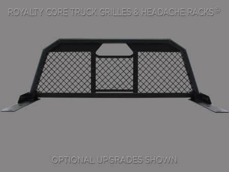 Royalty Core - Chevy/GMC 1500/2500/3500 2007.5-2018 RC88 Billet Headache Rack with Diamond Mesh - Image 2
