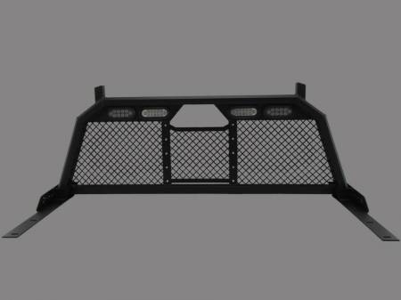 Royalty Core - Chevy/GMC 1500/2500/3500 2007.5-2019 RC88 Headache Rack w/ Integrated Taillights