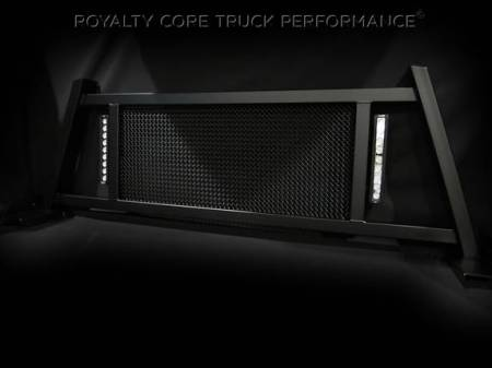 Royalty Core - Chevy/GMC 1500/2500/3500 HD 2007.5-2018 RC88X Headache Rack with LED Light Bars - Image 3